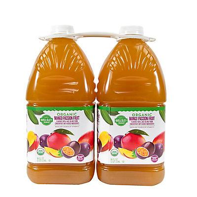 Wellsley Farms Organic Mango Passion Fruit Juice, 2 pk./96 fl. oz.