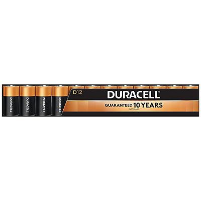 Duracell Coppertop D Batteries, 12 ct.