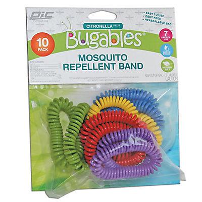 Bugables Citronella Plus Mosquito Repellent Bands, 10 pk.