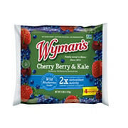 Wyman's of Maine Frozen Strawberries, Blueberries and Cherries with Kale, 4 lbs.