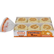 Thomas' Original English Muffins, 2 pk./6 ct.