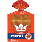 King's Hawaiian Sweet Rolls, 2 pk./16 ct.