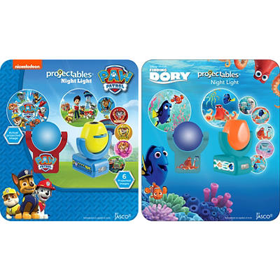 Projectables LED Night Light - Paw Patrol or Finding Dory Characters