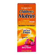 Children's Berry Flavored Motrin, 2 pk.