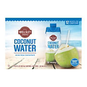 Wellsley Farms Coconut Water, 12 pk./500mL