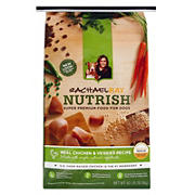 Rachael Ray Nutrish Real Chicken & Veggies Dry Dog Food, 40 lbs.