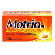 Motrin IB Ibuprofen, Aches and Pain Relief 300 ct.