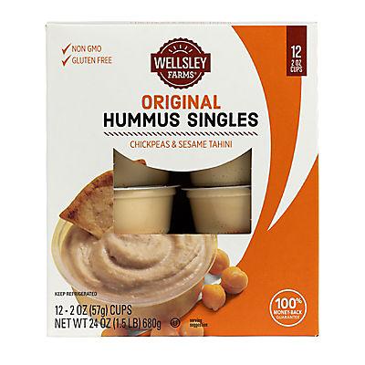 Wellsley Farms Original Hummus Singles, 12 ct./2.oz.