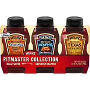 Heinz Pitmaster Collection BBQ Sauce, 3 ct.