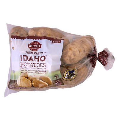 Wellsley Farms Idaho Potatoes, 5 lbs.