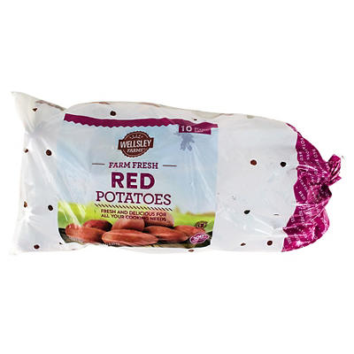 Wellsley Farms Red Potatoes, 10 lbs.