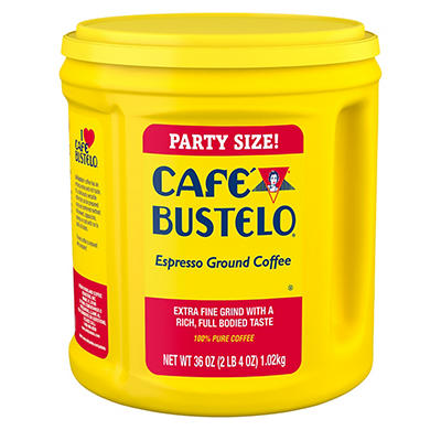 Cafe Bustelo Ground Coffee, 36 oz.