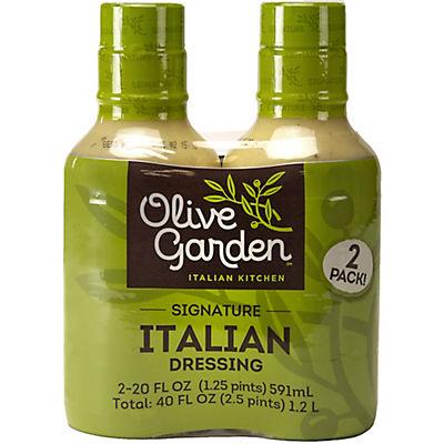 Olive Garden Signature Italian Dressing, 2 pk./20 oz.