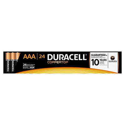 Duracell Coppertop AAA Batteries, 24 ct.