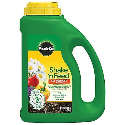 Miracle-Gro Shake 'n Feed All Purpose Plant Food, 8 lbs.