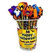 DesignWayProducts Halloween Topper Pencils, 36 ct.