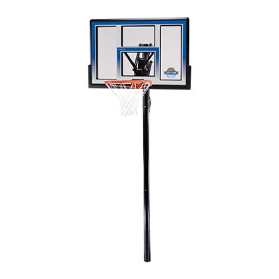"Lifetime Action Grip 48"" Adjustable Inground Basketball System"