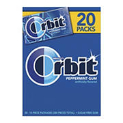 Orbit Peppermint Gum, 20 pk./14 ct.
