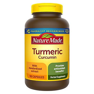 Nature Made Turmeric Capsules, 180 ct.