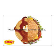$25 Denny's Gift Card
