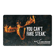 $25 Darden Longhorn Steakhouse Gift Card