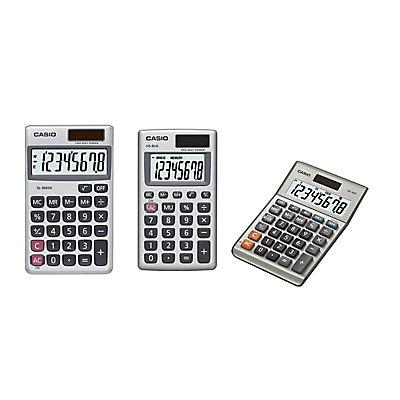 Casio Desktop and Pocket Calculators, 3-Pk