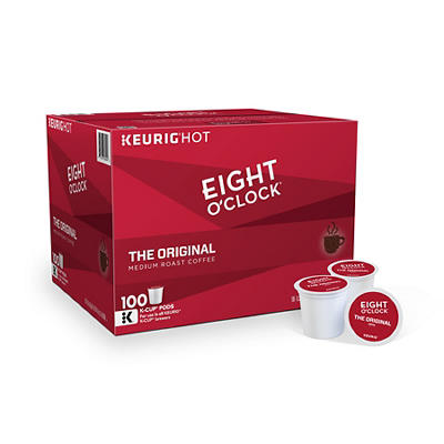 Eight O'Clock Original K-Cup Pods, 100 ct.