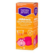 Berkley Jensen Children's Berry Flavor Ibuprofen, 8 oz.