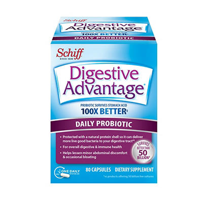 Digestive Advantage Probiotic Capsules, 80 ct.