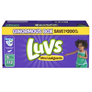 Luvs Ultra Leakguards Diapers, Size 6, 112 ct.