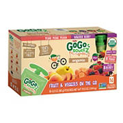 GoGo SqueeZ Organic Fruit and Vegetable Sauce Pouches, 16 pk./3.2 oz.