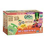 GoGo SqueeZ Organic Fruit and Vegetable Sauce Pouches, 16 pk./3.2 oz.