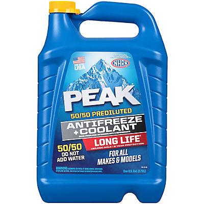 Peak 50/50 1-Gal. Pre-Diluted Antifreeze & Coolant, 2 pk.