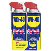 WD-40 Smart Straw Aerosol Lubricating Spray, 2 pk./12 oz.