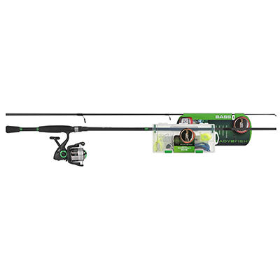 R2F 6.5' Bass Spin Rod and Reel Combo with Kit