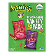 Annie's Organic Fruit Snacks Variety Pack, 42 ct.