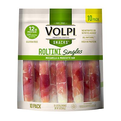 Volpi Roltini Prosciutto Wrapped Mozzarella, 10 ct.