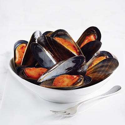 Mussel King PEI Mussels in Red Thai Curry, 2 lbs.