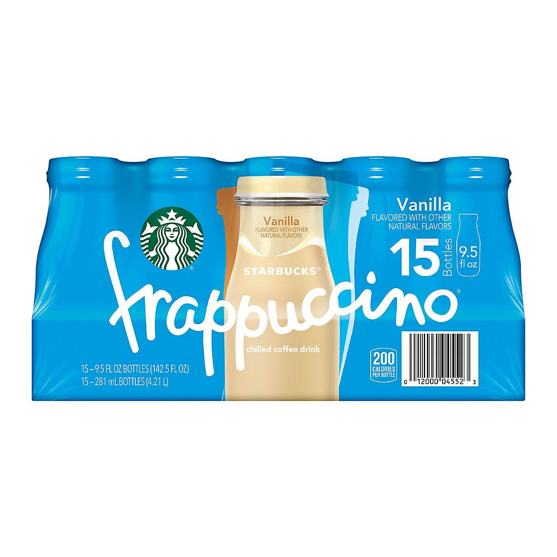 Starbucks Vanilla Frappuccino 15 Ct