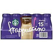 Starbucks Mocha Frappuccino, 15 ct.