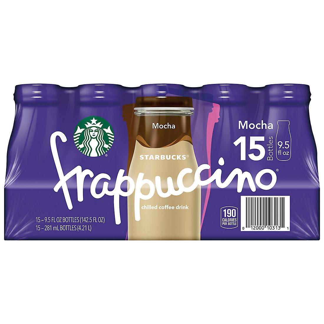 Starbucks Mocha Frappuccino 15 Ct