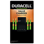 Duracell Ion Speed 1,000 NiMH Battery Charger with 6/AA and 2/AAA Batteries