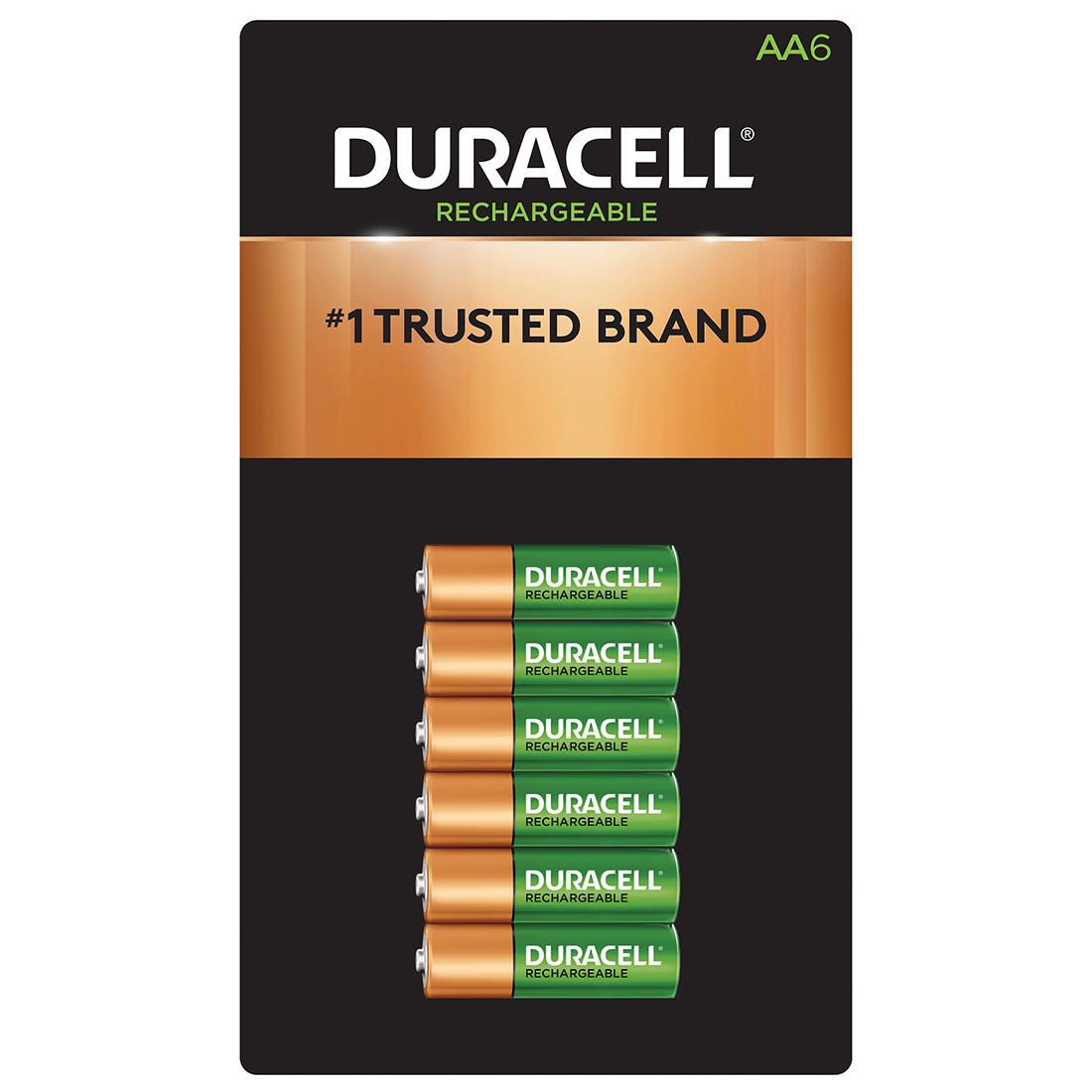 graphic relating to Duracell Battery Coupons Printable named Duracell Rechargeable AA Pre-Billed Batteries, 6 ct.