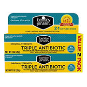Berkley Jensen Triple Antibiotic Ointment, 2 pk./1 oz.