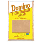 Domino Light Brown Pure Cane Sugar, 7 lbs.
