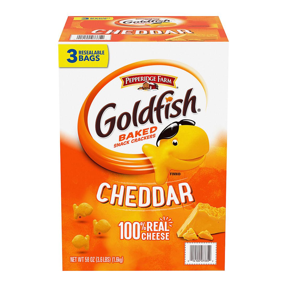 photograph about Goldfish Printable Coupons referred to as Pepperidge Farm Goldfish, 58 oz.