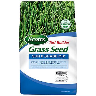 Scotts Turf Builder Grass Seed Sun & Shade Mix, 20 lbs.