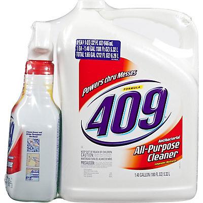 Formula 409 All-Purpose Cleaner, 32 oz.Spray Plus 180 oz.Refill