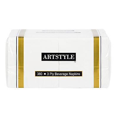 """Artstyle 10"""" Napkin, 380 ct. - White"""