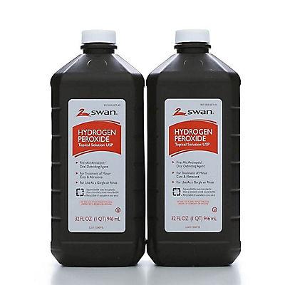 Swan Hydrogen Peroxide, 32 oz., 2 ct.